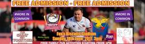 Batley v Sheffield Rugby League Championship FREE ENTRY SUN 18th 3pm