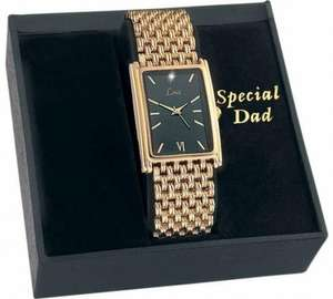 Limit Men's Gold Plated 'Special Dad' Bracelet Watch £12.99. @Argos (C&C)