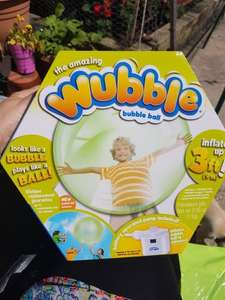 wubble bubble ball from home bargains instore - £9.99