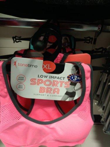 Sports Bra £3.99 B&M