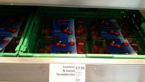 1kg Strawberries for £3.50 in Waitrose and Online