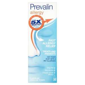 Hayfever Season - Prevalin allergy spray / Clarityn hayfever tablets 2 for £6 at Tesco