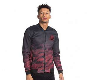 Kings Will Dream Londria Bonded Camo Varsity Jacket £19.99 C+C @ FootAsylum