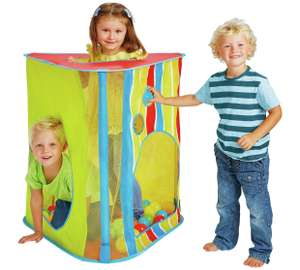 Chad Valley Stripe and Mesh Large Play Tent now £7.99 / Chad Valley Pirate Ship Pop Up Play Tent £14.99 @ Argos