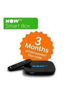 NOW TV Smart Box With 3-Month Entertainment Pass £29.99 @ Very