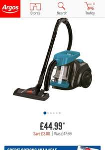 Buy Bissell Compact Pet Bagless Cylinder Vacuum Cleaner £44.99 at Argos