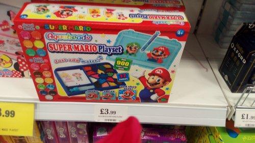 Nintendo Super Mario Aquabeads set - £3.99 @ Home Bargains
