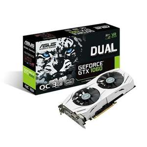 ASUS GeForce Dual-GTX1060-O3G Graphics Card £179.99 @ GAME