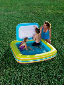 Bestway Aquatic Art pool - paddling pool with built in white board & 5 erasable crayons was £19.99 now £13.99 with free C&C @ Very