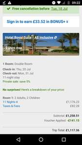 From Newcastle: Family of 4 July 11 Night All Inclusive Holiday to Fuerteventura Inc Flights, Good Rated Hotel & Private Transfers £375.88pp @ Ebookers/Jet2 Whole Family