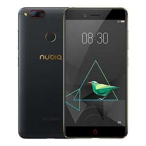 ZTE Nubia Z17mini 5.2 Inch 4G LTE Smartphone Dual Rear Cam 13.0MP FHD Screen 4GB 64GB Snapdragon 652 Octa Core Metal Unibody Touch ID NFC - Black Gold £201.74 @ Geekbuying