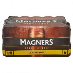 77p a pint! ......Magners 20 x 440ml £12 @ Morrisons
