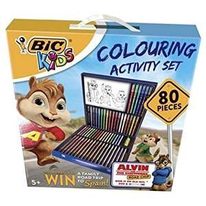 Bic Kids Colouring Activity Set 80 Pieces - £6 @ Tesco direct (online/instore)
