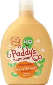 Paddy's organic kids hand and body wash £1 @ Poundshop