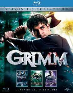 Grimm Blu-Ray Seasons 1-3 £9.99 @ Zavvi