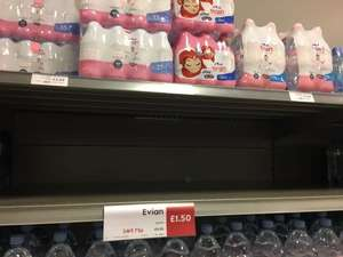 EVIAN WATER - 6 x 500ml £1.20 PYO otherwise £1.50 Bargain @ Waitrose