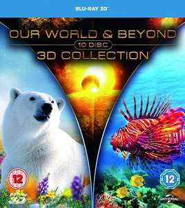 Our World & Beyond 3D Collection Blu-ray 10 Disc  £14.99  Zavvi