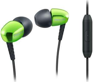 PHILIPS SHE3905GN Headphones with microphone - Green - £4.97 - Currys / PcWorld