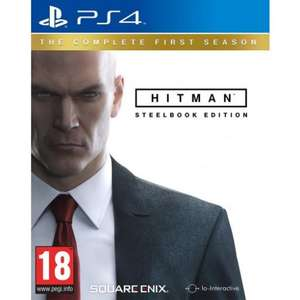HITMAN: THE COMPLETE FIRST SEASON - Steelbook Edition PS4  £19.95  TheGameCollection