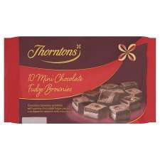 Thornton's Brownie Bites 10 Pack 70p at Tesco from tomorrow