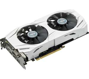 ASUS Dual GeForce GTX 1060 Graphics Card £199.99 @ CURRYS with Rocket League