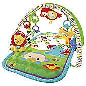 offer stack - Buy Fisher-Price Rainforest 3-in-1 Musical Mobile PLUS  FP 3-in-1 Musical Activity Baby Gym PLUS FP Rainforest Curve Baby Bouncer for £54.01 @ Tesco Direct