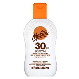 Malibu 200ml sun cream £2.99 Savers