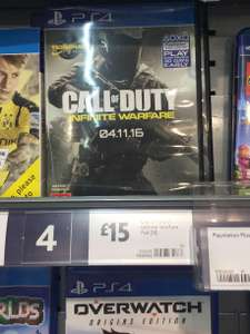 PS4 Call of duty infinite warfare £15.00 @ Morrisons in store