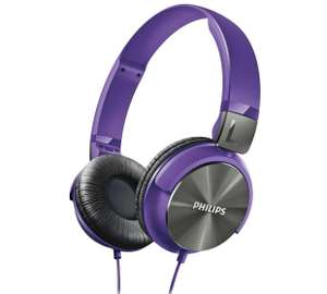 Philips SHL3160 DJ Style On-Ear Headphones - Purple / White / Silver / Blue / Black now £12.99 @ Argos (Black and blue now £10.99)