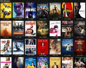 Rent ANY movie (HD / SD) for 99p (New AND Existing customers) @ Wuaki