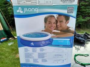 swimming​ pools 8 foot £20 @ Home bargains - waterloo