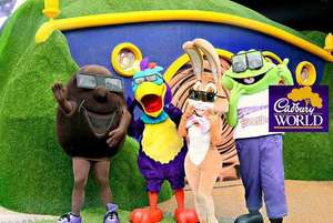 Cadbury World Family Pass + Hotel Stay in Solihull  + Breakfast with Leisure Access for 4 £119 at Wowcher