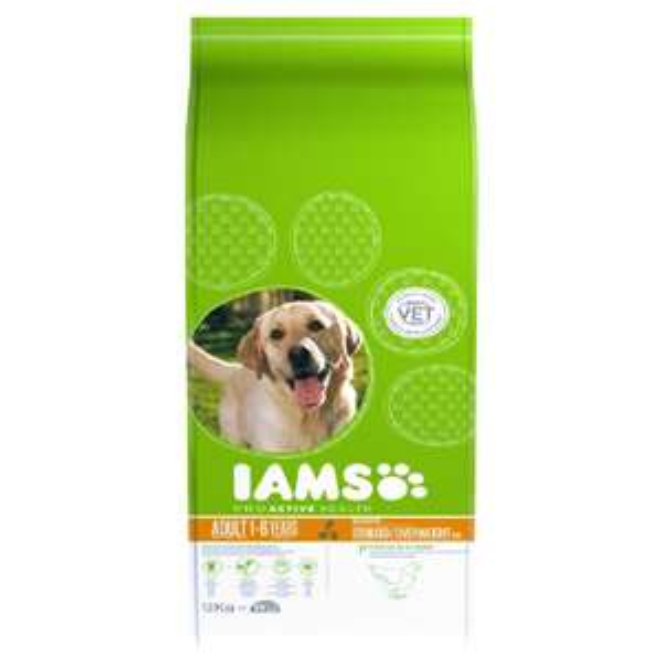 Iams ProActive Health Dog Adult Sterilised/Overweight 12kg, £15 @ petsathome online exclusive.
