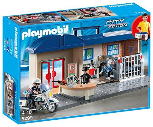 Playmobil 5299 City Action Take Along Police Station £15 Prime / £19.75 Non Prime @ Amazon