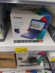 Polaroid portable dvd play blue £20.80 @ Asda