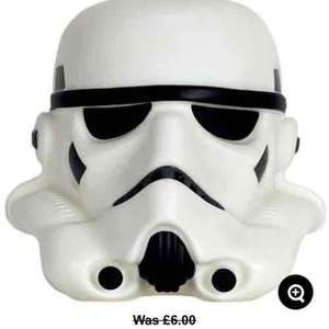 Stormtrooper Illumi-mate Night Light now half price. Other characters also available (see post) £3 @ Asda