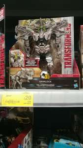 Transformers 5 - GRIMLOCK - Turbo Charger £9 off - now £20 instore @ Asda
