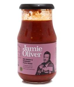 Jamie Oliver Red Onion & Rosemary Pasta Sauce 400g bbd 12/17 39p home bargains