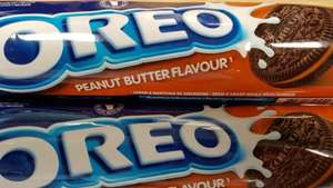 £1 for 3 x Oreo Peanut Butter flavour cookies (154g per pack) @ Heron
