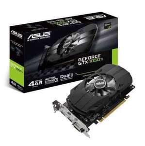 Asus NVIDIA GeForce GTX 1050 PH-GTX1050TI-4G 4 GB Graphics Card - Black £126.97 at Amazon