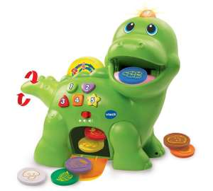 VTech Feed Me Dino (was £21.99) Now £14.51 / FurReal Kami My Poopin Kitty (was £25) Now £15  at Tesco Direct (links in post)