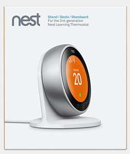 Nest Stand for Learning Thermostat 3rd Generation £14.99 (Prime) / £18.98 (non Prime)  @ Amazon