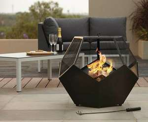 George Home Geo-12 Fire Bowl & Log Burner was £84.95 now £54.95 Delivered @ Asda George