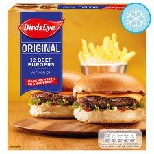 Tesco newcastle eldon square - 12 birds eyes burgers for £1.05 instore