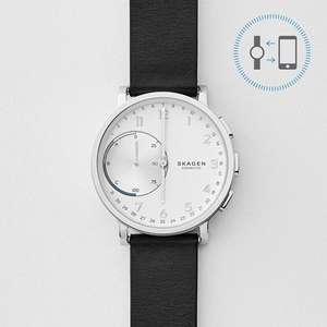 Skagen Connected Leather Hybrid Smartwatch / 35% off / now £120 incl P&P direct from Skagen