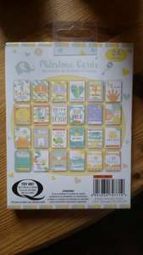 Baby Milestone Cards £1 instore @ Poundland