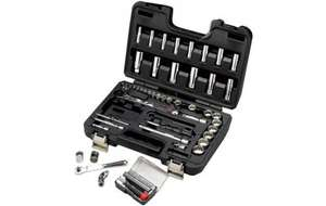 "Halfords Advanced 64 Piece Socket Set 1/4"" 3/8"" down from £140 to £50 + Free Advanced 8 piece Screwdriver Set worth £15"