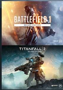 Battlefield 1 - Titanfal 2 Deluxe Bundle £37.99 @ origin