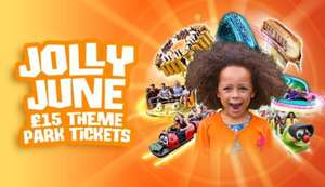 Lightwater Valley. Jolly June £15 ticket deal.