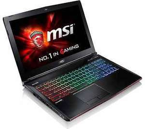 "MSI GE62 6QF Apache Pro Core i7 15.6"" 16GB 1TB 128GB Gaming Laptop - Grade C £719.99 @ techsave2006 Ebay"